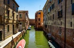Venecia al día soleado brillante Imagen de archivo libre de regalías