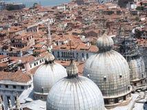 Venecia - bóvedas de la basílica de San Marco imagen de archivo libre de regalías
