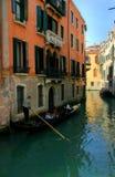 Venecia. Canal. Imagen de archivo libre de regalías