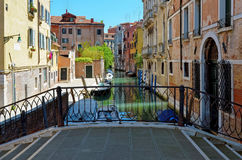 Venecia, canal Imágenes de archivo libres de regalías