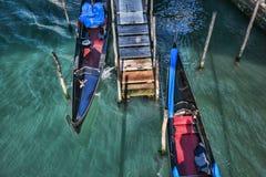 Venecia con las góndolas en Italia Imagen de archivo