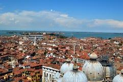 Venecia desde arriba Fotografía de archivo libre de regalías