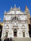 Venecia-e - Chiesa di San Moise foto de archivo libre de regalías