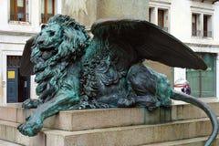 Venecia, el león veneciano imagen de archivo libre de regalías