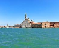 Venecia en azul Imagen de archivo libre de regalías