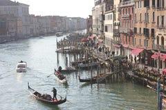Venecia en invierno imagen de archivo libre de regalías