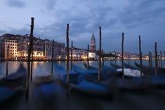 Venecia en la noche Imagen de archivo libre de regalías