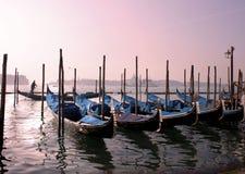 Venecia en la oscuridad Foto de archivo libre de regalías