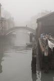 Venecia en otoño foto de archivo