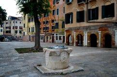 Venecia, ghetto Novo Fotografía de archivo