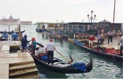 Venecia Goldola Foto de archivo libre de regalías