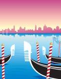 Venecia Gondole Imágenes de archivo libres de regalías