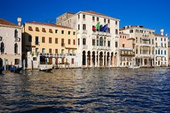 Venecia Grand Canal fotos de archivo libres de regalías