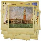 Venecia - grandes señales italianas Imágenes de archivo libres de regalías