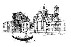 Venecia, Italia stock de ilustración