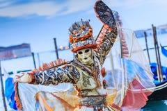 Venecia, Italia Carnaval de Venecia Imágenes de archivo libres de regalías
