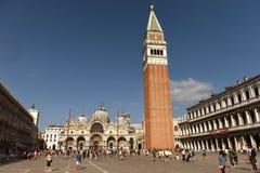 Venecia, Italia - 7 de junio de 2017: San Marco Square en Venecia Imagenes de archivo