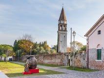 Venecia, Italia - 29 de octubre de 2016: Isla Mazzorbo, Venecia, Italia Fotografía de archivo libre de regalías