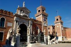 Venecia, Italia:  El arsenal fotos de archivo libres de regalías