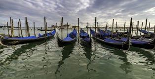 Venecia, Italia Paisaje imponente del canal Fotos de archivo libres de regalías