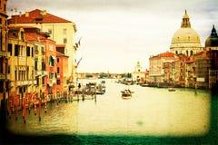 Venecia, Italia retra Foto de archivo libre de regalías