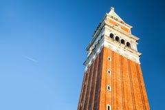 Venecia, Italia Torre del marco de San Fotos de archivo