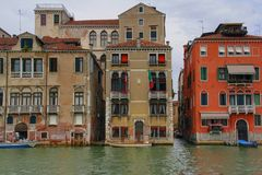 "Venecia Italia, Venetià ""Italià "" Foto de archivo"