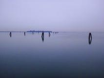 Venecia Laguna Foto de archivo libre de regalías