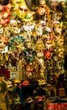 Venecia maskers Italië Stock Foto's
