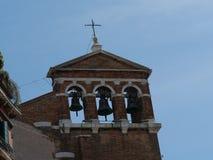 Venecia - opiniones en Calli del cuarto de San Marco imagen de archivo