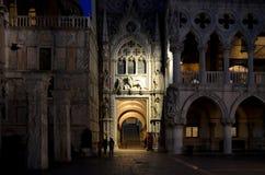 Venecia, Palazzo Ducale Imágenes de archivo libres de regalías