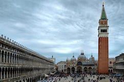 Venecia, plaza San Marco Imagen de archivo