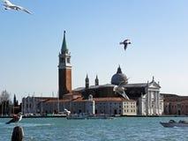 Venecia por la primavera, los muelles y las lagunas, 10 Fotografía de archivo libre de regalías