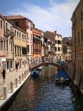 Venecia por la tarde imagen de archivo libre de regalías