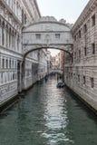 Venecia, puente de suspiros Fotografía de archivo libre de regalías