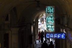 Venecia que lleva al cuadrado de San Marco Fotografía de archivo libre de regalías