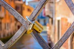 Venecia romántica en Italia, Europa Fotografía de archivo libre de regalías