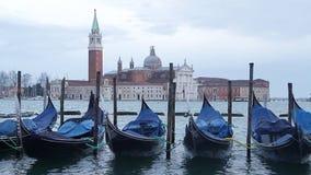 Venecia San Giorgio Maggiore almacen de video