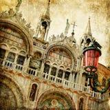 Venecia - San que sorprenden Marco fotografía de archivo