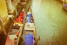 Venecia, vintage Imágenes de archivo libres de regalías