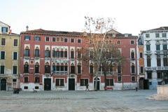 Venecia, vista del 'polo de Campo san ' imagen de archivo libre de regalías