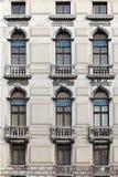 Venecia Windows Fotografía de archivo