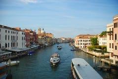 Venecian Boats Royalty Free Stock Photo