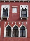 Venecian House in Piran, Slovenia Stock Image