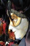 Venecian maske Arkivbilder