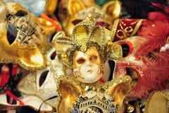 Venecian maskes 库存照片
