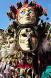Venecian maskes 图库摄影