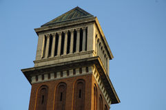 Venecian tower Royalty Free Stock Photography