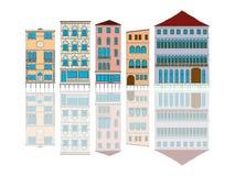 Venedig stock illustrationer