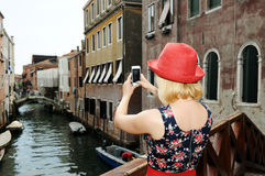 In Venedig Stockfotos